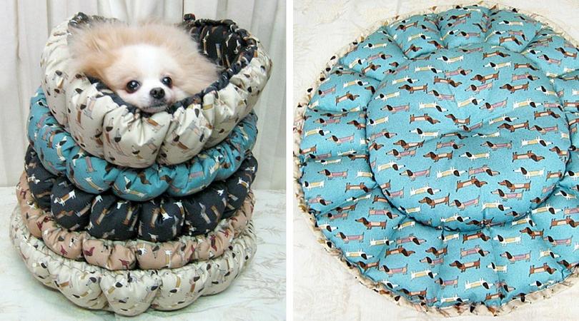 Как сшить лежак для собаки | Собаки ...